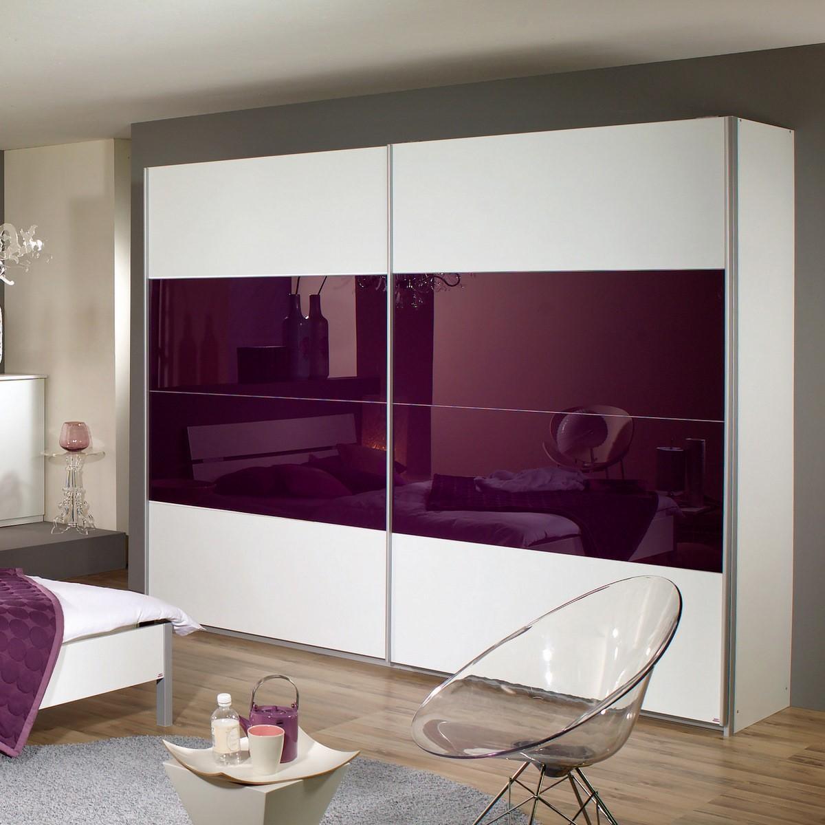 Schlafzimmer lila: schlafzimmer einrichten romantische atmosphare ...