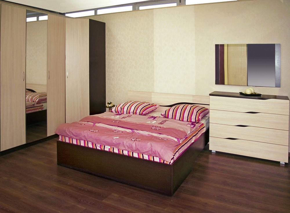 Дизайн эконом спальни
